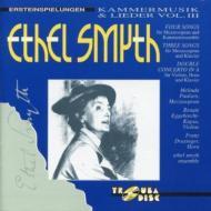 Chamber Music, Lieder Vol.3: Paulsen(Ms)Eggebrecht(Vn)Ethel Smyth Ens