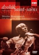 Cello Concerto: Rostropovich(Vc), Giulini / Lpo +saint-saens: Concerto.1