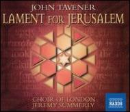 エルサレムのための悲歌 ジョーンズ/クロフォード/サマリー/ロンドン合唱団・管弦楽団
