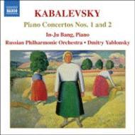 カバレフスキー:ピアノ協奏曲第1番、第2番 パン・インジュ(p)D.ヤブロンスキー&ロシア・フィル