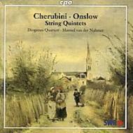 オンスロウ: 弦楽五重奏曲Op.19/同Op.51/ケルビーニ:弦楽五重奏曲  ディオゲネス四重奏団