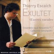 Vocal Works Simonpietri / Ensemble Sequenza 9.3