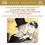 「サロン・オーケストラ名曲集第4集 − 1930年代、ドイツのヒット曲集」