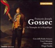 ゴセック:歌劇『共和制の勝利』/ファソリス(指揮)、イ・バロッキスティ、他