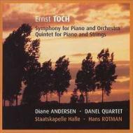 ピアノ協奏曲第2番、ピアノ五重奏曲 D.アンデルセン(p)ロトマン&ハレ州立フィル、他
