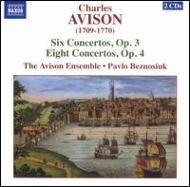 協奏曲集Op.3&4 エイヴィソン・アンサンブル/ベズノシウク