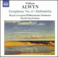 交響曲第4番/弦楽のためのシンフォニエッタ ロイド=ジョーンズ/フィルハーモニー管弦楽団