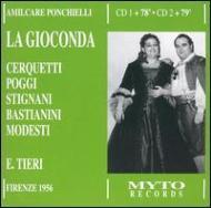 La Gioconda: Tieri / Maggio Musicale Fiorentino Cerquetti Bastianini