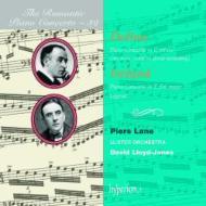 ディーリアス:ピアノ協奏曲[原典版]、アイアランド:ピアノ協奏曲 レーン(p)L.-ジョーンズ