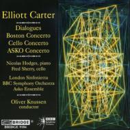 Dialogues, Boston Concerto, Cello Concerto, Asko Concerto: Knussen(Cond)