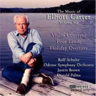 Violin Concerto: Schulte(Vn)J.brown / Odense So+holiday Overture, 4 Lauds