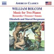 <2台のピアノのための作品集>思い出/ヘビのキス/エデンの園を通って、他 バーグマン