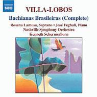 ブラジル風バッハ(全曲) ラモサ/フェラーリ/シャーマーホーン/モグレリア/ナッシュヴィル交響楽団、他