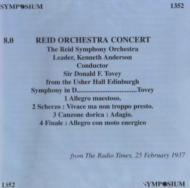 Symphony: Tovey / Reid So