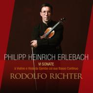 Violin Sonatas: R.richter(Vn)Mcgillivray(Gamb)Silas Standage(Cemb)etc