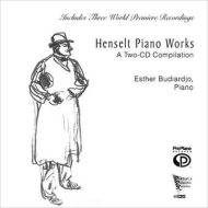 Piano Works: Budiardjo