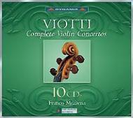ヴァイオリン協奏曲全集 メッゼーナ(Vn,指)ヴィオッティ室内管、他(10CD)