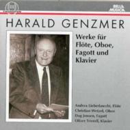 Works For Flute, Oboe, Bassoon, Piano: Lieberknecht(Fl)Jensen(Fg)