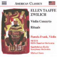 ツウィリッチ:ヴァイオリン協奏曲、他 フランク(vn)M.スターン&ザールブリュッケン放送響、他
