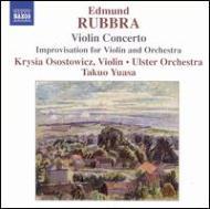 ラッブラ:ヴァイオリン協奏曲、他 オソストヴィッツ(vn)湯浅卓雄&アルスター管