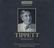 ティペット:交響曲第1番〜第4番/ヒコックス(指揮)、ボーンマス交響楽団