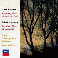 シューマン:交響曲第4番、シューベルト:交響曲第4番『悲劇的』 オイゲン・ヨッフム&コンセルトヘボウ管弦楽団