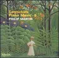 ルイス・モロー・ゴットシャルク(1829−1869):ピアノ作品集第8集/フィリップ・マーティン(ピアノ)