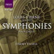 Comp.organ Symphonies: Filsell