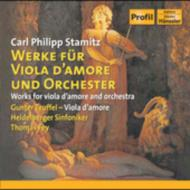 Viola D'amore Concerto.1, 2, Etc: Teuffel(Va D'amore)Fey / Heidelberg So