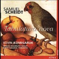 Tabulatura Nova: Komisaruk(Org)