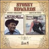 Stoney Edwards / She's My Rock