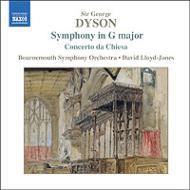 ダイソン:交響曲ト長調、序曲「アット・ザ・タバード・イン」、教会協奏曲 ロイド=ジョーンズ&ボーンマス響