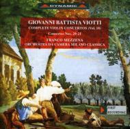 Violin Concerto.21, 29: Mezzena(Vn)/ Milano Classica Co