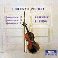 String Quartet.13, 14, Piano Quintet: Ensemble L.perosi