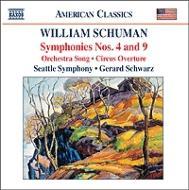 交響曲第4番/第9番「アルデアティーネの洞窟」/他 シュウォーツ/シアトル交響楽団