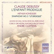 Sym.3: Cluytens / Turin Rai So +debussy: L'enfant Prodigue