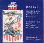 Sym.4, Piano Concerto.2: Hobson(P)/ Sinfonia Varsovia