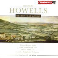 ハウエルズ:ヘラルド王、ランデルの楽園、他/ヒコックス(指揮)