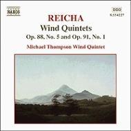 ライヒャ:管楽五重奏曲集 第4集(第5番、第7番) マイケル・トンプソン管楽五重奏団