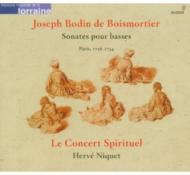 Sonates Pour Basses: Niquet / Lesconcert Spirituel