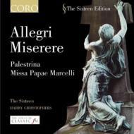 Miserere: Christophers / The Sixteen +lotti: Crucifixus, Palestrina