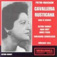『カヴァレリア・ルスティカーナ』全曲(ドイツ語) サヴァリッシュ&バイエルン放送響、ヴァルナイ、ホップ、他(1954 モノラル)