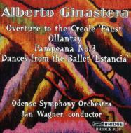 ヒナステラ(1916-1983)/Estancia Suite Creole Faust Overture Etc: Jan Wagner / Odense. so