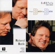 B to B — バッハからバティック/ローランド・バティック