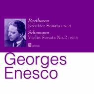 ベートーヴェン『クロイツェル』、シューマン:Vnソナタ第2番 エネスコ(vn)、シャイエ=リシェ(p)