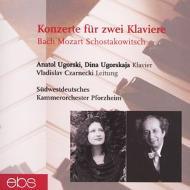 2 Pianos Concerto Ugorski Ugorskaja(P) Czarnecki(Cond)+shostakovich