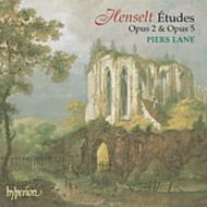 ヘンゼルト:ピアノのための練習曲集−12の性格的な演奏会用エチュード ほか/ピアーズ・レーン(p)