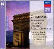 交響曲、詩曲、ピアノ四重奏曲、コンセール op.21、愛と海の詩 デュトワ&モントリオール響、他 (2CD)