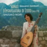 Sonate D'intavolatura Di Leuto: 野入志津子(Lute)