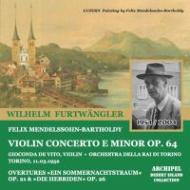 Violin Concerto / Sym.8: De Vito(Vn), Furtwangler / Turin Rai.o